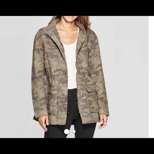 NWOT Universal Thread Camo Jacket XXL